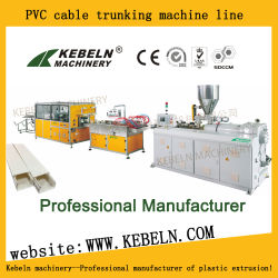 Belüftung-Kabeltrunking-Strangpresßling-Maschine Belüftung-Kabel-Tellersegment, das Maschine herstellt