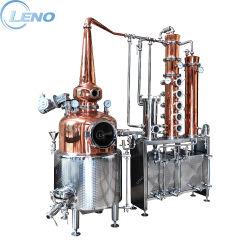 Alembic van de Prijs van het linon distilleert de Commerciële Stillere Geest van de Wodka van de Jenever van de Rum van de Wisky Distillateur van de Alcohol van het Koper van de Apparatuur van de Distillatie van de Kolom van de Terugvloeiing van de Pot van de Boiler nog de Rode