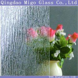ديكور مستدق من المطر حتى 6 مم، زجاج مزخرف بنمط المطر من أجل شاشات دش الحمام