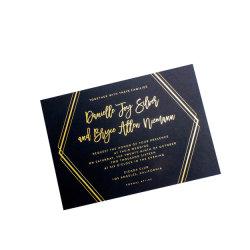 Het hoge Adreskaartje van het Adreskaartje van het Document van de Specialiteit van het Eind In reliëf gemaakte Druk