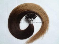 Ombre Keratin Remy flaches Spitze-Haar/flache gespitzte Schmelzverfahrens-Haar-Extensionen
