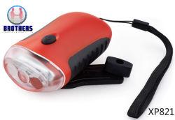 Manivelle de la torche LED Dynamo rechargeable (XP821)