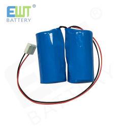 Baterias de Litio Non-Rechargeable Li-Socl2 Er34615 3,6 V 38000mAh 38Ah batería de litio Pack para medidor de agua