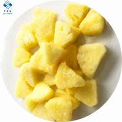 Sinocharm Brc a homologada 15-15mm IQF Abacaxi em cubos de abacaxi congelado