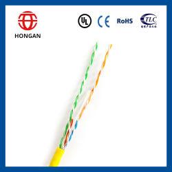 UTP CAT6 de 0,5 mm cable de datos de la CCA de cableado interior
