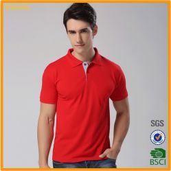 Nouvelle conception personnalisée en usine de 95%COTON 5%spandex Stripe Polo chemises pour hommes