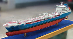 소형 배와 배 모형, 플라스틱 유조선 모형 (JW-140)