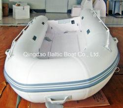 Aufblasbares Plastik-Belüftung-Boot fischend, Cer 400 mit Rippen versehen