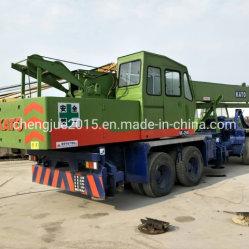 O Japão utilizados em terreno irregular Crane Kato 25t NK250 Tadano 25t 30t Veículo rolante para venda