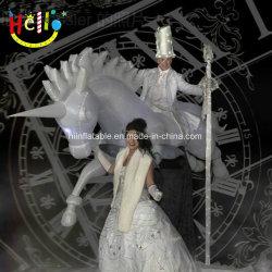 Van de LEIDENE van Carnaval van de parade Kostuum van het Paard Eenhoorn van de Verlichting het Opblaasbare