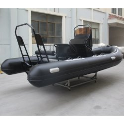 2021 New Model Luxury PVC Yacht Rigid Inflatable Rib Fishing 救助ボートは良質である