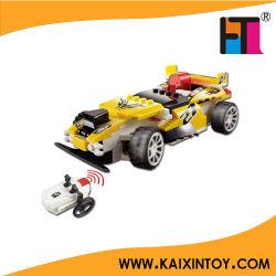 DIY 4CH Remote Control Building Blocks Racing Car