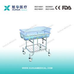 Mobilier pour bébés, acier inoxydable Hospital Medical Lit pour bébé (D-4)