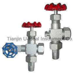 Игольчатый клапан и клапан манометра давления, уровень в смотровом стекле кран манометра клапан, клапан манометра воды