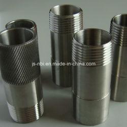 Os componentes do tubo de aço carbono usinados de precisão
