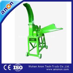 Anon Animal máquina de corte de palhiço de processamento do triturador de Palha
