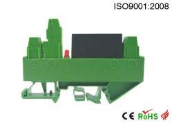 コンパクトなDCの流れまたは電圧シグナルの(磁気電気)送信機のアイソレーター(DIN3 ISO EMU (A) - P-O)