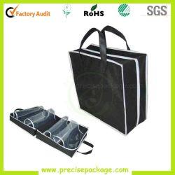 Logo personnalisé de l'impression personnalisée Portable PP non tissé sac d'emballage du caisson de nettoyage