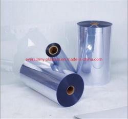 precio de fábrica de hoja rígido transparente de PVC transparente de PVC transparente super delgada hoja suave suave de PVC PVC película hoja para Blister
