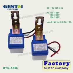 Desligar automático para o Interruptor da Luz de Rua Fotocelula 12V DC do Interruptor do Sensor do Controle fotográfico de Luz