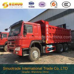 Utilisé avec le camion à benne HOWO 10 roues 6X4 de seconde main Sinotuck camion benne des camions lourds meilleure condition de levage central la compétitivité des prix de vente à chaud