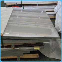 2,4 mm 2,9 mm 2,7 mm AISI 201 304 321 430 316 309 310 410 630 904L Stainless Steel Feuille de matériau de construction des prix de la plaque