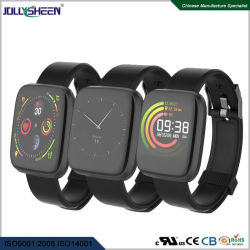 """Dynamische kontinuierliche 24 des Stunden-Stunden Monitor-BP mit volles buntes Screen-Armband 1.3 """" TFT Farbe Uhr-Art mit TPU Handgelenk-Brücke und 200mAh IP67, Cer. RoHS"""