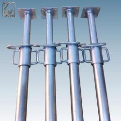 構築の電流を通された足場調節可能な鋼鉄ジャックサポート支柱