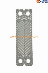 Intercambiador de calor de placas de 0,5 mm de las placas de SS316 M6/M10/M15/M30