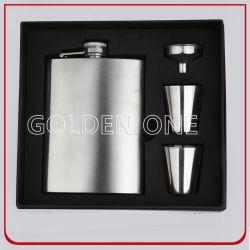 Vin de luxe Accessoires en acier inoxydable Ensemble flasque