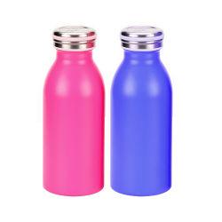 Twee van het Roestvrij staal van de Melk van de Fles van de Hete en Koele van het Water van de Fles 350ml van de Fles Lagen Fles van het Glas Thermische