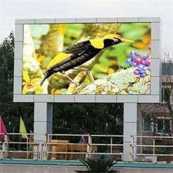 Hohe Helligkeit P10 Werbung Brett Vollfarb LED-Bildschirm