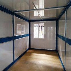 منزل حاويات قابل للطي في ميناء شنغهاي كمكتب أو محل إقامة