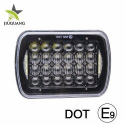 L'angelo capo automatico luminoso eccellente della lampada 7inch del LED Eyes il faro fuori strada IP68 4X4 della jeep di DRL 48W 6500K dell'automobile impermeabile 5X7 LED del camion