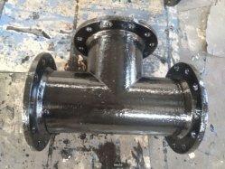 Doppeltes Kontaktbuchse-T-Stück mit Flansch-Zweig für duktiles Eisen-Rohr