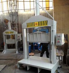 ماكينة قطع البالات المطاطية بكاشطة واحدة Xql-80/Rubbe Sheet