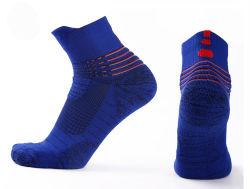 Confortáveis em execução personalizados Sport meias de homens de algodão
