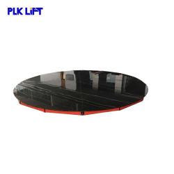 Plate-forme rotative de voiture de l'acier de haute qualité de la plaque de levage de stationnement