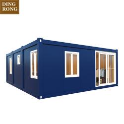 China barata prefabricados prefabricados modulares fabricados Kitset móvil pequeño contenedor flotante cabaña/oficina/House/WC Casas