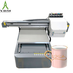 XP600 Printer van de Druk van a1 Flatbed Automatische Digitale Acryl UV