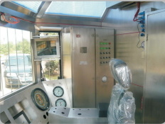 Grabador de perforación de pozo de petróleo el monitor y el taladrador de la sala de control