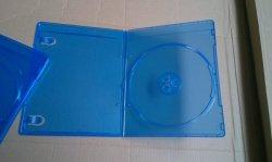 Caixa de DVD Blue Ray Caixa de DVD capa do DVD slim Rectange duplo de 7 mm