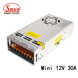 360W 12V 30un petit volume d'alimentation de puissance de commutation à sortie simple
