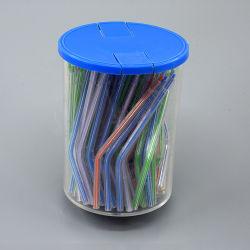 歯科プラスチック使い捨て可能な三方空気水スポイトは多彩な管をひっくり返す