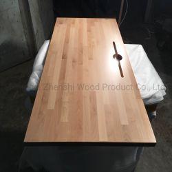 Bloque de carnicero de madera maciza de madera Escritorio Workbench