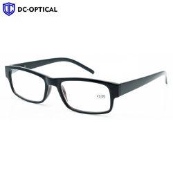 Ce carré de la FDA Femmes Hommes vintage Fashion lunettes de lecture en plastique