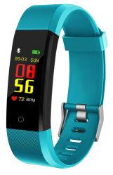 Nouveau modèle B11 Smart Dial continus en temps réel personnalisés Bracelet heart rate monitoring Rappel d'appel de la bande de bracelet à puce