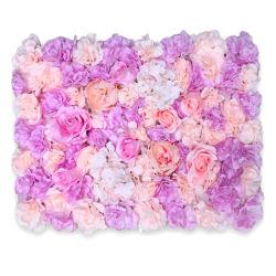 """Панели цветов искусственные цветы на стене экрана 60x40см (23.62""""X15.75"""") романтический цветочный фоне хеджирования Интерьер Свадебное фото оформление фона"""