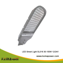 SL018 30W-150W Spitzenbatterie-Positions-Entwurfs-Solarstraßenlaterne-Kopf und Batterie komplett