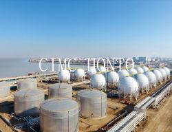 3000m3 LPG 스피어 탱크 1500t 프로판 가스 보관 터미널 판매